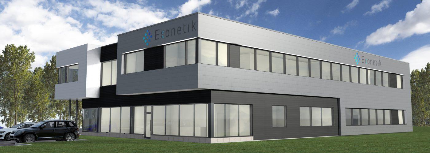 Future usine Exonetik, Sherbrooke