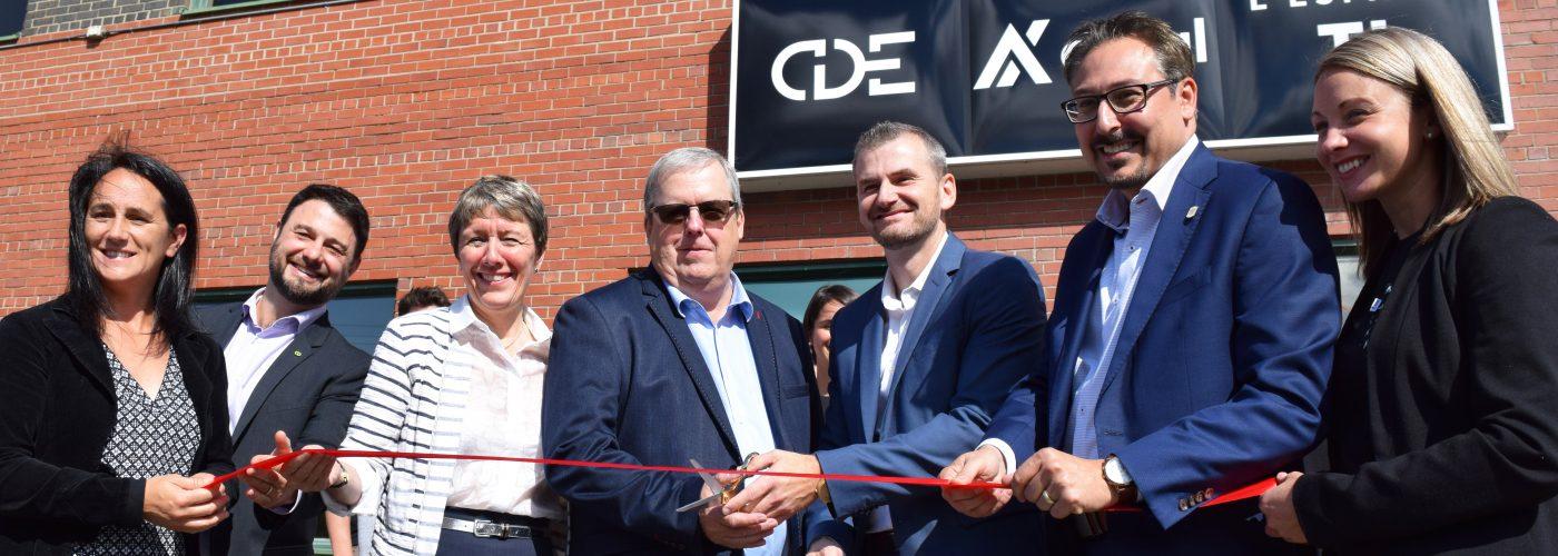 Inauguration Axial, CDE, Espace TI par SI
