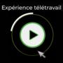 Expérience télétravail avec Bestar, Calogy Solutions, Cible, Eidos-Sherbrooke