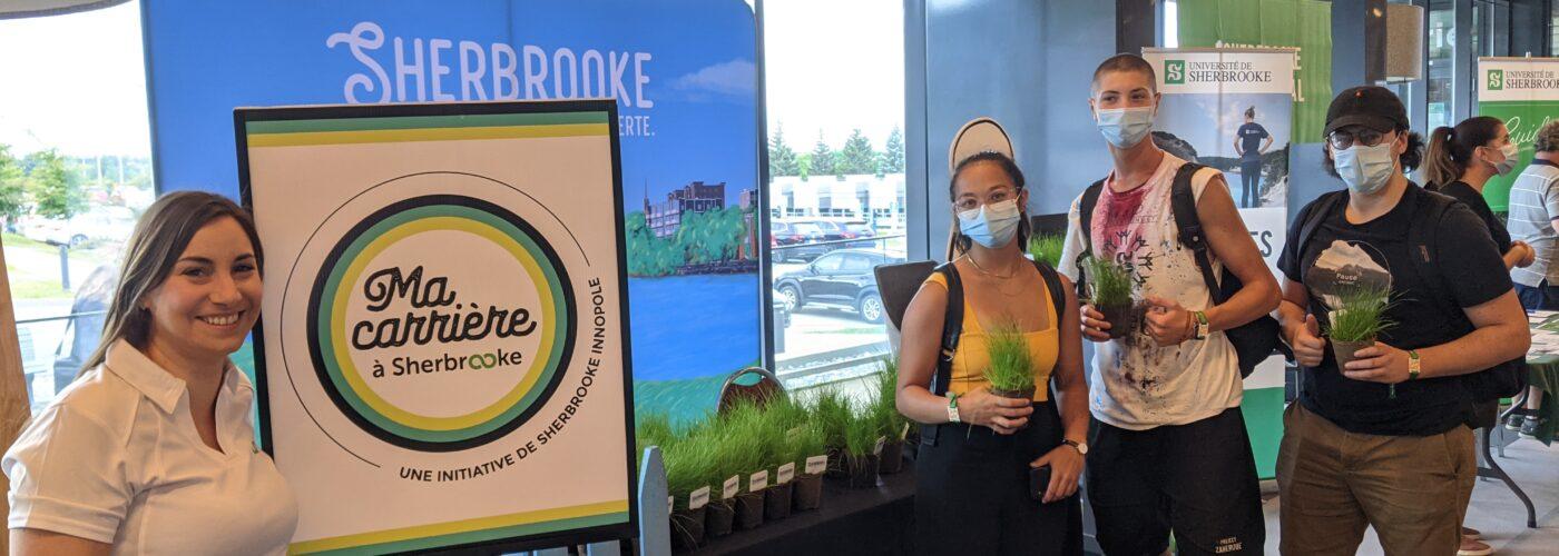 Ma carrière à Sherbrooke, par Sherbrooke Innopole aux Journées de la rentrée à l'Université de Sherbrooke