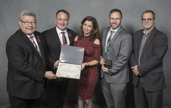 E2 Metrix - Lauréat Gala des Prix d'excellence en environnement 2016
